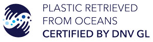 certificate by DNV GL - plastic retrieved from oceans